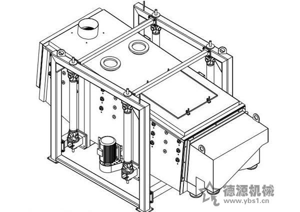 摇摆筛设计原理构造筛网装置
